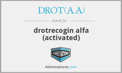 What does DROT(AA) stand for?