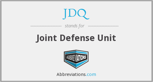 JDQ - Joint Defense Unit