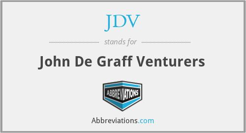 JDV - John De Graff Venturers