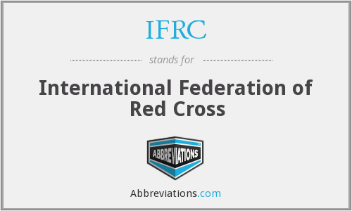 IFRC - International Federation of Red Cross