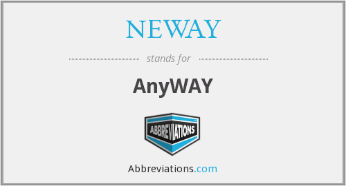 NEWAY - AnyWAY