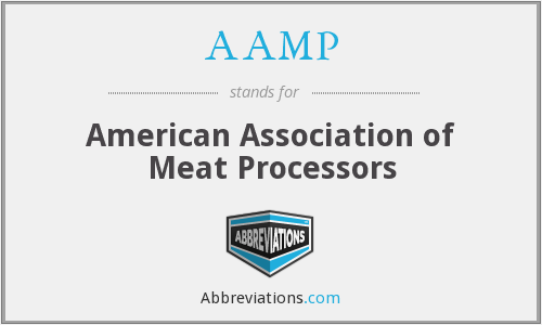 AAMP - American Association of Meat Processors