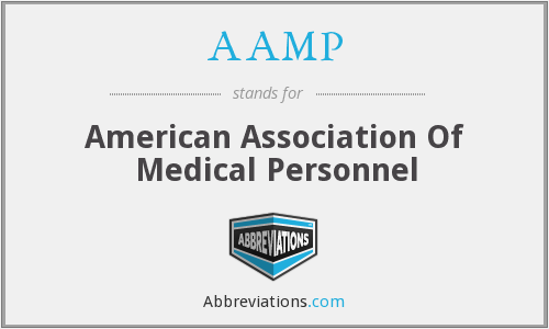 AAMP - American Association Of Medical Personnel