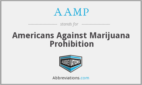 AAMP - Americans Against Marijuana Prohibition