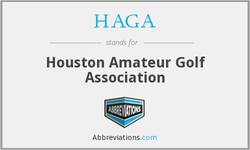 HAGA - Houston Amateur Golf Association