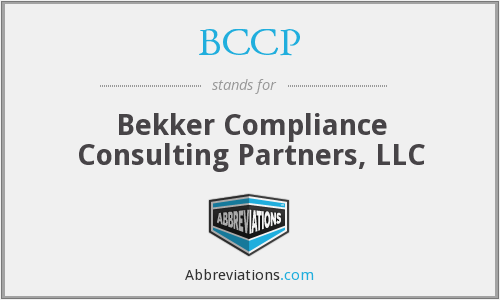 BCCP - Bekker Compliance Consulting Partners, LLC