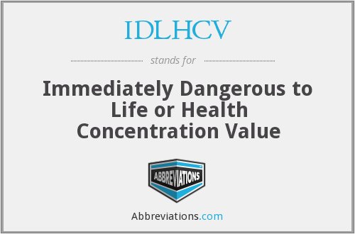 What does IDLHCV stand for?