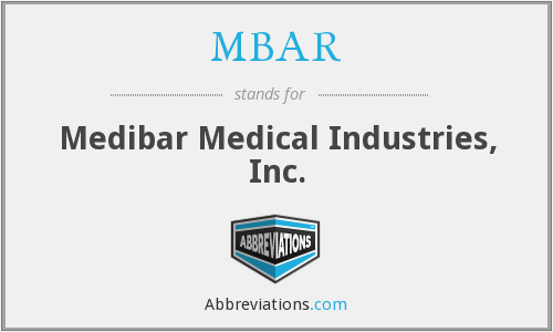 ZBAR - Medibar Medical Industries, Inc.