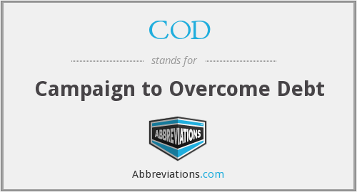 COD - Campaign to Overcome Debt