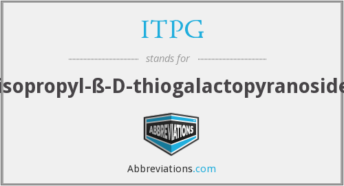 What does ITPG stand for?