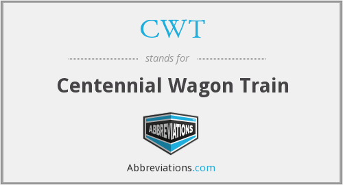CWT - Centennial Wagon Train