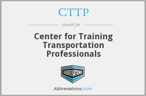 CTTP - Center for Training Transportation Professionals
