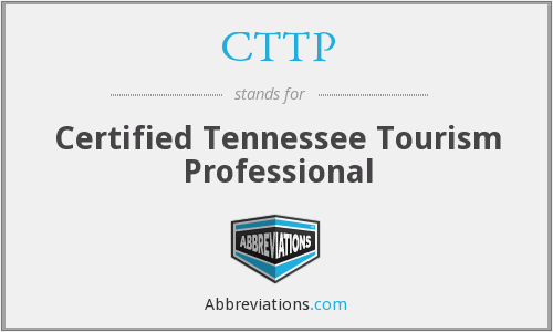 CTTP - Certified Tennessee Tourism Professional