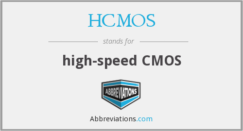 What does HCMOS stand for?