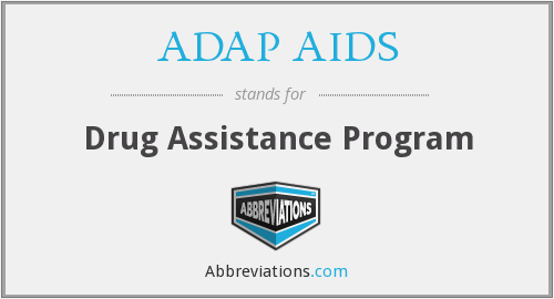 What does ADAP AIDS stand for?