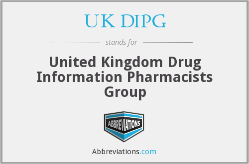 What does UK DIPG stand for?