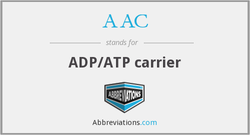AAC - ADP/ATP carrier