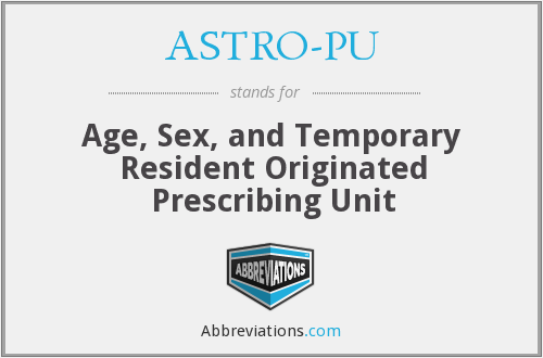 What does ASTRO-PU stand for?