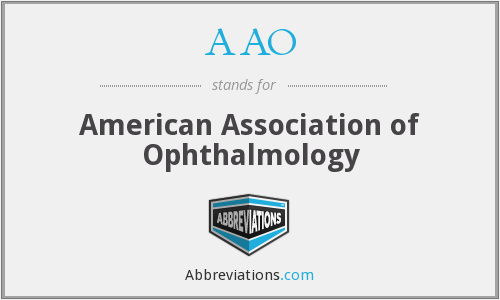 AAO - American Association of Ophthalmology