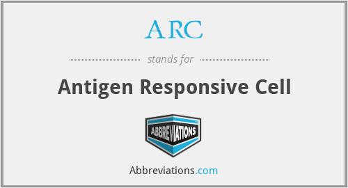 ARC - Antigen Responsive Cell