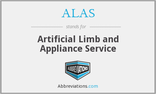 ALAS - Artificial Limb and Appliance Service