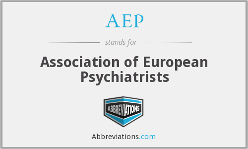 AEP - Association of European Psychiatrists