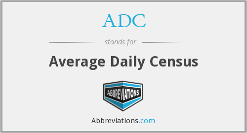 ADC - average daily census