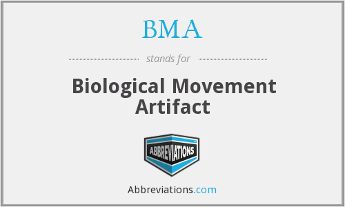 BMA - Biological Movement Artifact