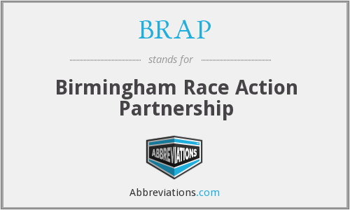 BRAP - Birmingham Race Action Partnership