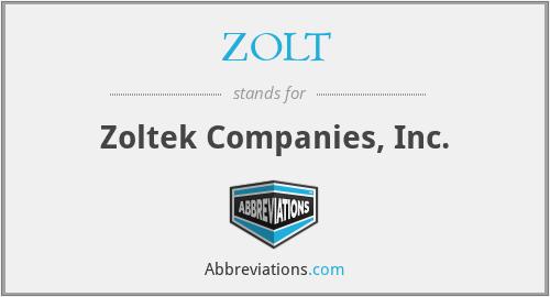 ZOLT - Zoltek Companies, Inc.
