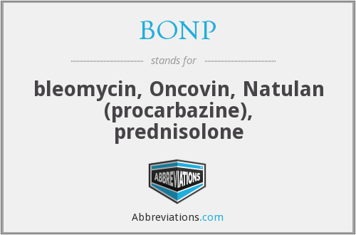 What does BONP stand for?