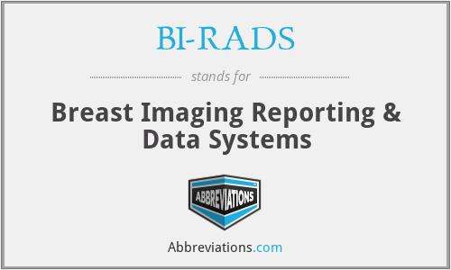 BI-RADS - Breast Imaging Reporting & Data Systems