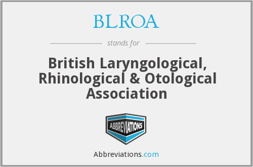 What does BLROA stand for?
