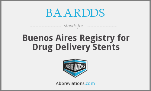 BAARDDS - Buenos Aires Registry for Drug Delivery Stents