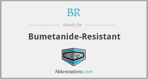 BR - Bumetanide-Resistant