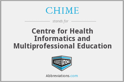 CHIME - Centre for Health Informatics and Multiprofessional Education