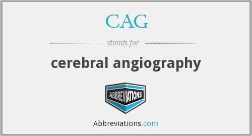 What does CAG stand for? — Page #4