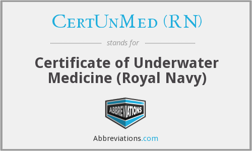 What does CERTUNMED (RN) stand for?