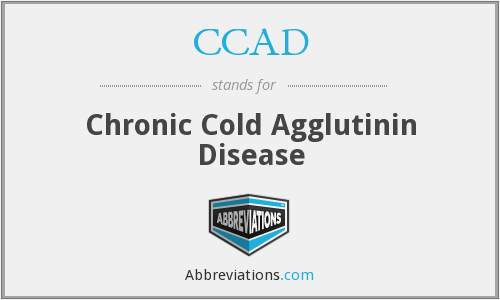 CCAD - chronic cold agglutinin disease