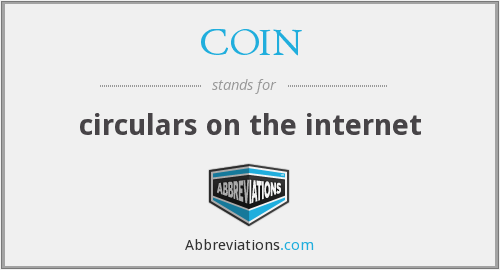 COIN - circulars on the internet
