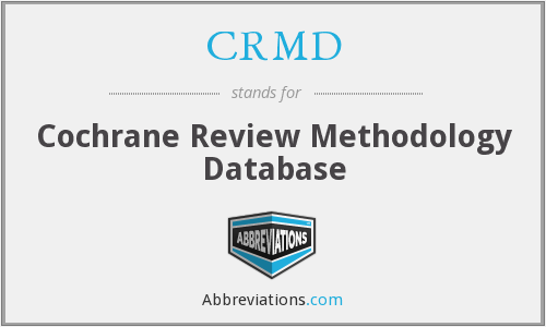 What does CRMD stand for?