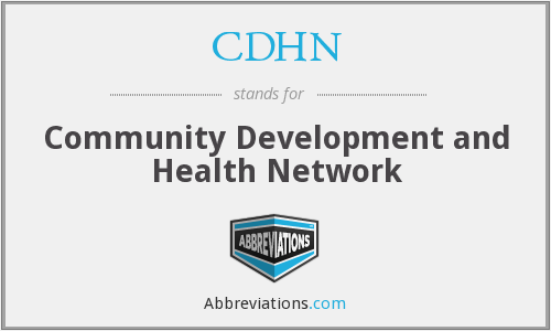 CDHN - Community Development and Health Network
