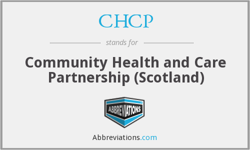 CHCP - Community Health and Care Partnership (Scotland)