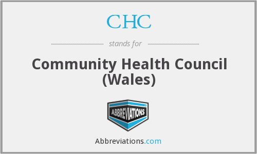 CHC - Community Health Council (Wales)
