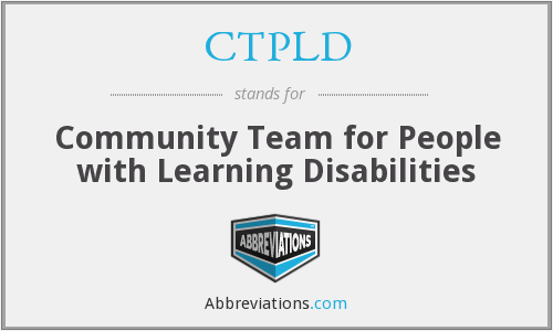 What does CTPLD stand for?