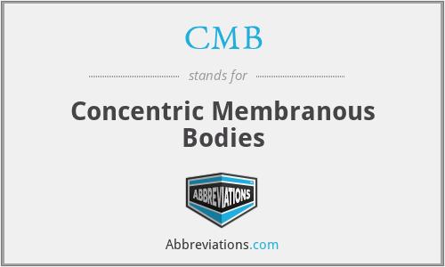 CMB - Concentric Membranous Bodies