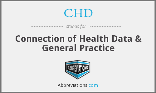 CHD - Connection of Health Data & General Practice