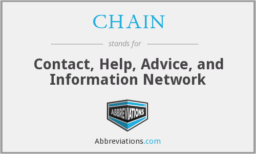What does CHAIN stand for?