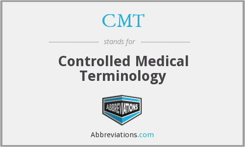CMT - controlled medical terminology