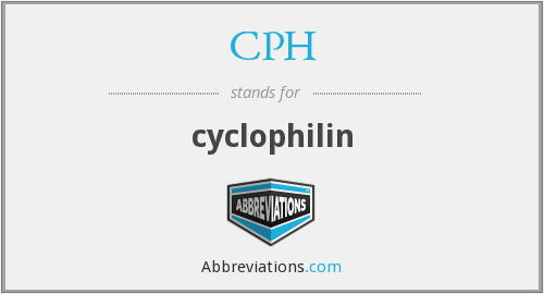 CPH - cyclophilin